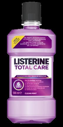 LISTERINE<sup>®</sup> TOTAL CARE