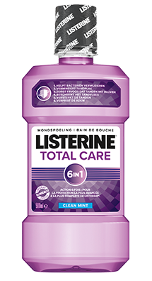 LISTERINE<sup>®</sup> TOTAL CARE