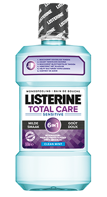 LISTERINE<sup>®</sup> TOTAL CARE SENSITIVE